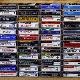 Tape Cassette Box